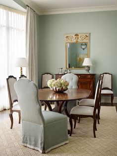 C Weaks Interiors French Country Dining Decorating Interior Rugs Atlanta Homes