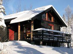 Cabin near Golsfjellet. The mountain farm ´Jondalen Fjellgård´ has an undisturbed location in the mountain area of ´Golsfjellet´, approx. 700 metres above sea level. Sea Level, Mountain, Cabin, House Styles, Home Decor, Decoration Home, Room Decor, Cabins, Cottage