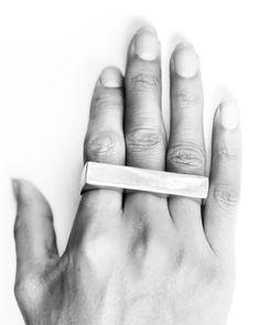 3 Finger Ring Silver