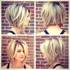 Cute Short Bob Haircuts #ShortBobHairstyles