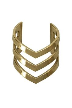 Chevron cuff + an entire collection's worth of amazing jewels