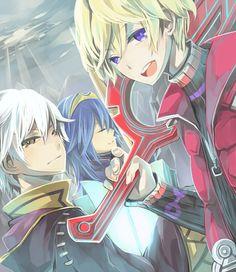 Robin, Shulk, & Lucina