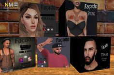 Facade Mainstore Tattoos For Him And Her Gifts: Head appliers, tattoos and tears for men and women. All gifts are free. Store Name: .Facade. Group: Free to join, group joiner…