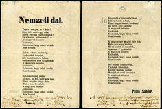 A forradalom talán legikonikusabb versét hallgathatjuk meg a következő linken Dali, Hungary, Budapest, Reiki, Old Photos, Poems, 1, Decoupage, March