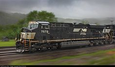 RailPictures.Net Photo: NS 7572 Norfolk Southern GE ES40DC at Unknown, West Virginia by Brock Dishner