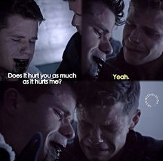 I cried so damn hard at this part, and for like the rest of the episode.. And another maybe 10 minutes. Such a sad part