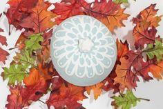 Laura Ashley Blog: Lace Inspired Pumpkin.