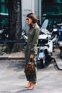 ysl fringe bag street style
