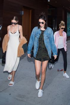 Pin for Later: Gigi Hadid Just Made Dinner Slippers a Thing