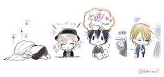 埋め込み Tsukiuta The Animation, Anime Hair, Kawaii Drawings, True Love, Creatures, Manga, Anime Boys, Cute, Paradise