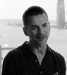 Dave Gahan screen shot from the trailer for Depeche Mode Live in Berlin, a film by Anton Corbijn