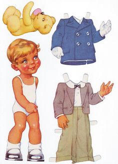 I think these are from Germany - Pia Larsson - Picasa Albums Web * 1500 free paper dolls for other Pinterest paper doll pals at Arielle Gabriel's The International Paper Doll Society *