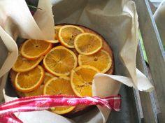 Glutenfreier Orangenkuchen mit Polenta