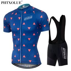 PHTXOLUE Cycling Clothing Bike Clothing Breathable Quick Dry Men Bicycle  Wear Cycling Sets Short Sleeve a753d6533