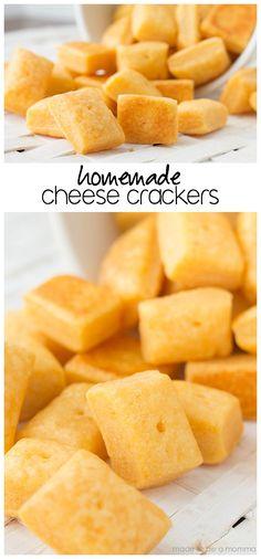 Homemade Cheese Crac