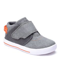 Look at this #zulilyfind! Gray & Orange Stopover Sneaker #zulilyfinds