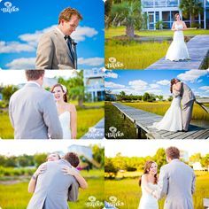 First look photos from a couple in Wilmington, NC! So happy and such a beautiful day!