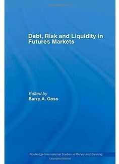 Debt Risk And Liquidity In Futures Markets