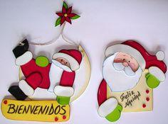 Imagenes • Oso navideno en foami
