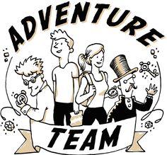 Adventure Team ein Team eine Aufgabe und 60 Minuten Zeit