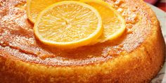 Semolina cake with orange: discover the cooking recipes of Femme Actuelle Le MAG - - Lemon Desserts, Dessert Recipes, Desserts Fruits, Cupcake Recipes, Lemon Cream Cheese Bars, Fruit Cake Design, Semolina Cake, Rhubarb Recipes, Homemade Cake Recipes