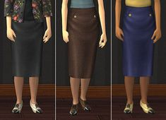 Mod The Sims - AL Separated Bottoms Set - everyday for EF
