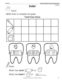 february is dental health month check out these and plenty more free activities worksheets. Black Bedroom Furniture Sets. Home Design Ideas