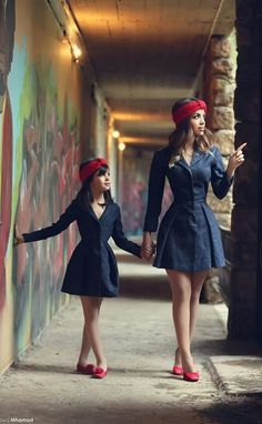 Mommy and daughter outfits Mother Daughter Fashion b6da38219eb9