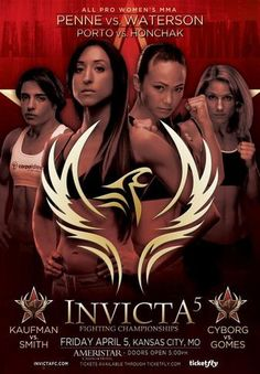 05.04.2013 Invicta FC 5: Penne vs. Waterson Ergebnisse - Results