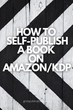 Amazon Publishing, Self Publishing, Kindle Cover, Ebook Cover, Sell Books On Amazon, Blank Book, Amazon Kindle, Writing A Book, Ebooks