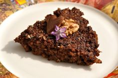 VegeGuláš: Kakaový pšenový nákyp s jablkami, makom, chia a or...