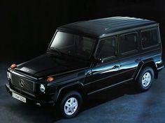 Mercedes-Benz 500 GE (1993).