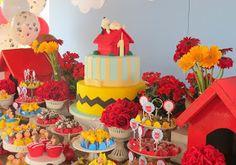 Encontrando Ideias: Festa Snoopy!!!
