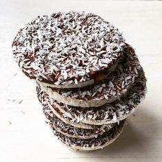 Rijstwafels met chocolade en kokos - Barbara EET