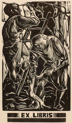 Art-exlibris.net - exlibris by Gian Luigi Uboldi for ? Vor der Schrift