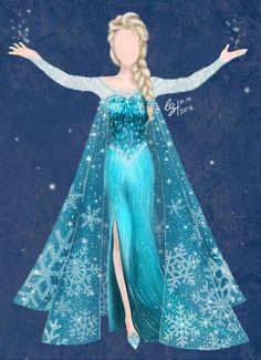 See more ideas about frozen dress, elsa fancy dress costume and snow queen dress Disney Wedding Dresses, Disney Princess Dresses, Disney Dresses, Princess Wedding Dresses, Girls Dresses, Frozen Wedding Dress, Princess Elsa Dress, Queen Dress, Elsa Fancy Dress