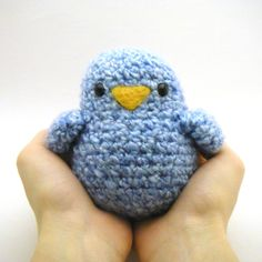 Crochet Toy Pattern - Fat Birdy by Mamachee on Etsy https://www.etsy.com/listing/119282542/crochet-toy-pattern-fat-birdy bird