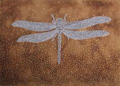 "Saatchi Art Artist Gian Luigi Delpin; Painting, ""dragonfly"" #art"
