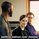 getting jealous over Jemma Leopold Fitz, Fitz And Simmons, Marvels Agents Of Shield, Shawarma, Bucky Barnes, Series Movies, Guardians Of The Galaxy, Marvel Movies, Marvel Cinematic Universe