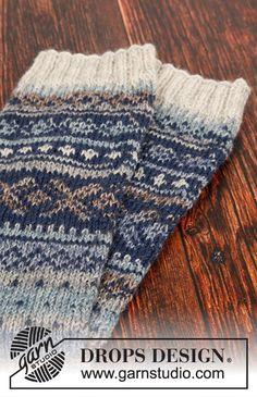 Nordfjord / DROPS – Free knitting patterns by DROPS Design - Knitting for Beginners Knitting Patterns Free, Free Knitting, Free Pattern, Drops Design, Magazine Crochet, Gilet Crochet, Magazine Drops, Fair Isle Knitting, Knit Mittens