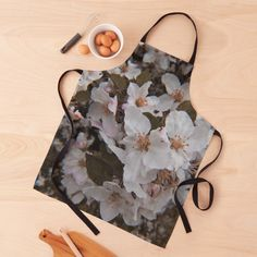 White Springs, Spring Blossom, Black Tie, Print Design, Apron, Photography, Style, Swag, Photograph