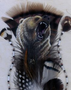 By Linda Anderson Eagle Painting, Feather Painting, Feather Art, Native Art, Native American Art, Dream Catchers, Bev Doolittle, Animal Spirit Guides, Feather Crafts
