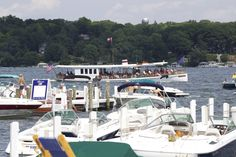 Private charters aboard the Lake Geneva Cruise Line's Polaris.