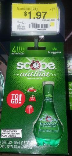 Walmart:  Scope-To-Go 4pks Just $1.47!