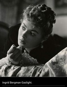 This is a pic of Ingrid Bergman, or is it? gaslight I love this movie!!!!