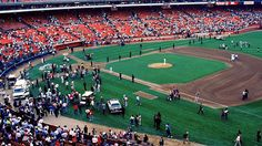 Candlestick Park after 1989 Loma Prieta quake (SF Giants and the Oakland A's), San Francisco Candlestick Park, San Francisco Earthquake, Natural Disasters, Golden State, Bay Area, Baseball Field, California, City, Places