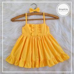 Frocks For Girls, Baby Girl Frocks, Kids Outfits Girls, Toddler Girl Dresses, Little Girl Dresses, Girl Outfits, Girls Frock Design, Baby Dress Design, Baby Girl Dress Patterns