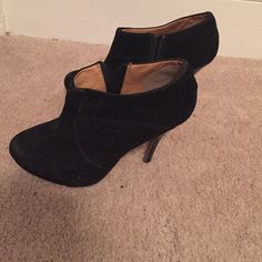 Boots heels Black comfortable I'm sale because I don't like use heels anymore. Blanco Shoes Heeled Boots