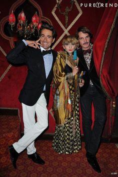 Vincent Darré, Catherine Baba et Elie Top
