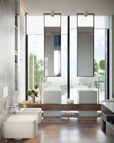 Fabulous Ideas Can Change Your Life: Natural Home Decor Bedroom Spaces natural home decor diy house smells.Natural Home Decor Inspiration Rustic natural home decor ideas layout.Natural Home Decor Ideas Outdoor Spaces. Double Sink Bathroom, Bathroom Sink Vanity, Bathroom Toilets, Double Sinks, Vanity Mirrors, Double Vanity, Bathroom Mirrors, Bathroom Furniture, Small Bathroom
